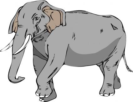 Clipart elephant with big head clipart freeuse library Elephant head clipart clipart kid - Clipartix clipart freeuse library