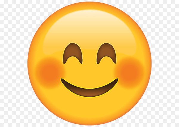 Clipart embarrassed smiley face image royalty free Blushing Emoji Smiley Face Clip art - Smile - Nohat image royalty free