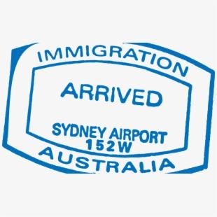 Clipart embassy australia svg transparent Visas And Eligibility - Australia Passport Stamp #2076579 - Free ... svg transparent