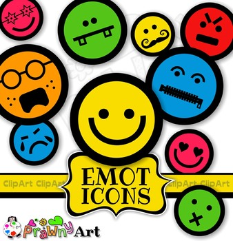 Clipart emoji pack clipart black and white stock Smiling Face Emoticons Emoji Clip Art Mega Pack clipart black and white stock