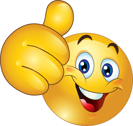 Clipart emoticon png transparent stock Thumbs Up Happy Smiley Emoticon Clipart Royalty Free | beginning ... png transparent stock