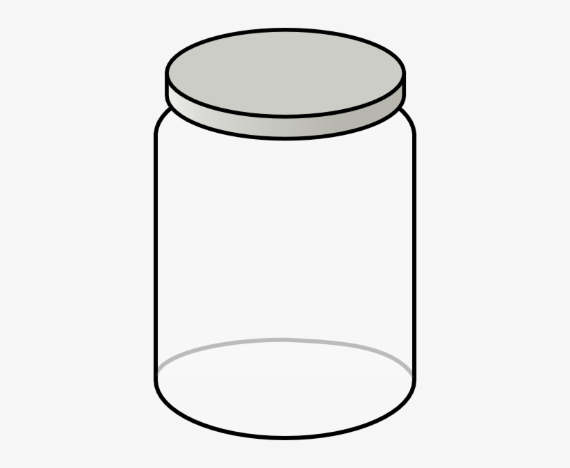 Clipart empty bottle clipart black and white library Clear Jar Clip Art At Clker - Empty Bottle Clip Art Transparent PNG ... clipart black and white library