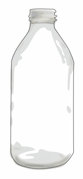 Clipart empty bottle jpg download Clear Bottle Clip Art at Clker.com - vector clip art online, royalty ... jpg download