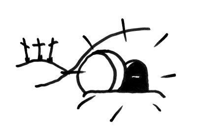 Clipart empty tomb black and white library 31+ Empty Tomb Clipart | ClipartLook black and white library