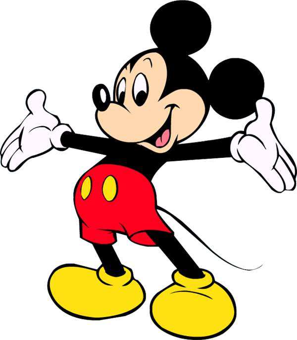 Clipart en jpg svg black and white library Free Mickey Mouse Clipart Pictures - Clipartix svg black and white library