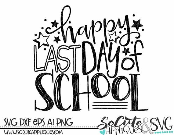 Clipart end of file banner free library End of school SVG, Happy last day of School, summer svg, svg file ... banner free library