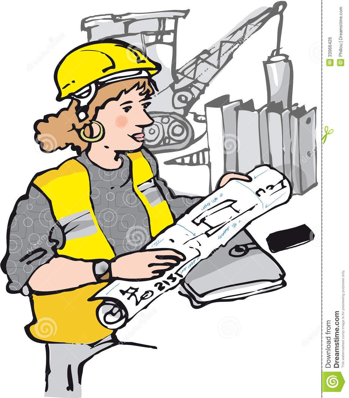 Civil engineering clipart clipart transparent download Female Civil Engineering Clip Art Female Free Engine - Free Clipart clipart transparent download