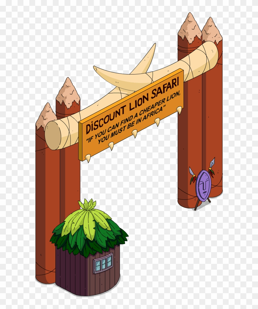 Entrace clipart jpg transparent Discount Safari Entrance Clipart (#2346963) - PinClipart jpg transparent