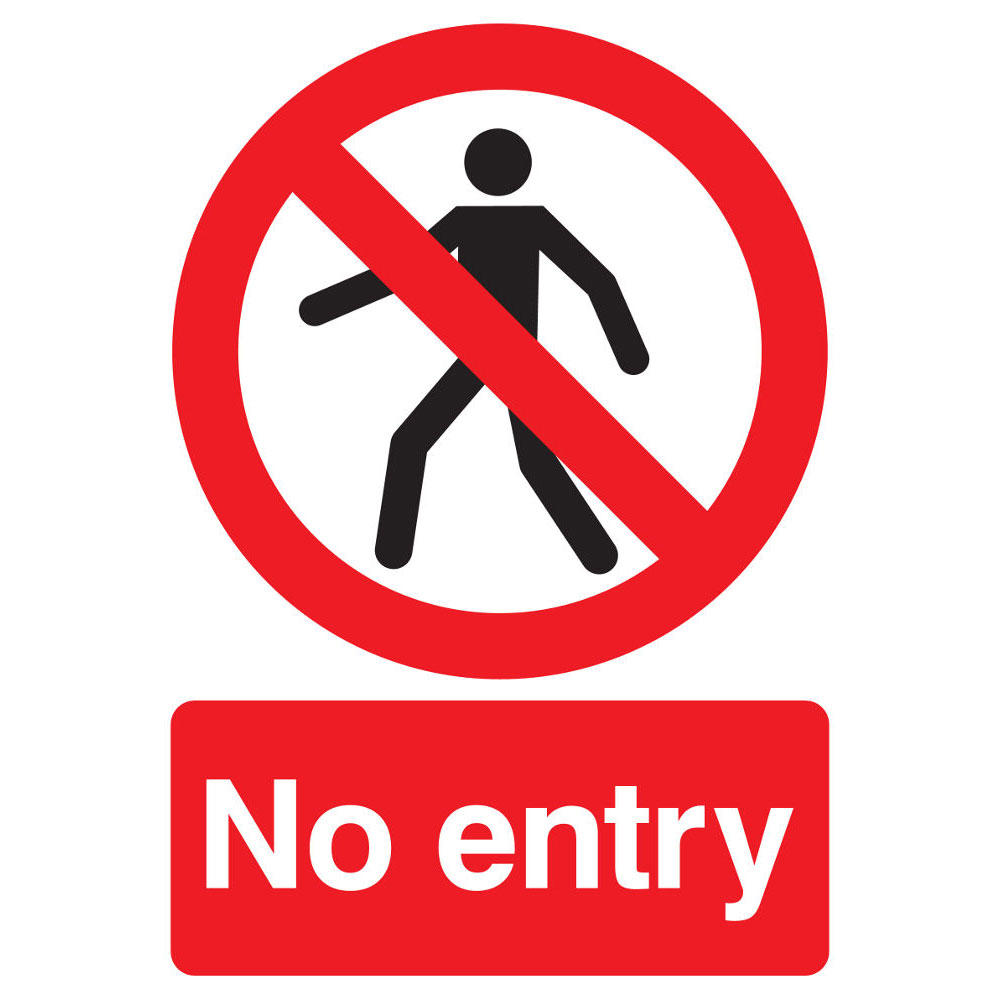 Entrance clip art library. Free clipart no entry sign