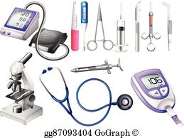 Clipart equiipment png Medical Equipment Clip Art - Royalty Free - GoGraph png
