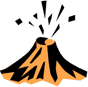 Clipart erupt image transparent stock Volcano erupt clip art vector clip art free image - Clip Art Library image transparent stock