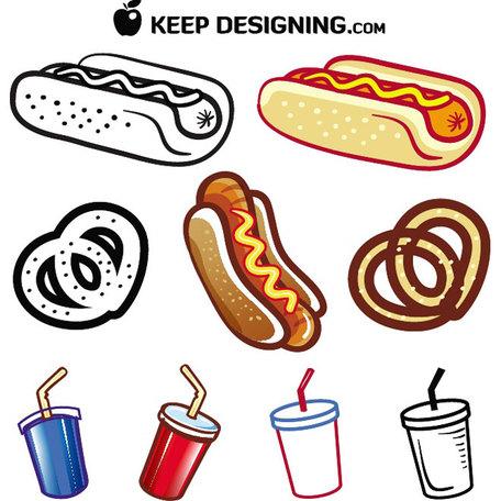 Clip art vektor speisen. Clipart essen und trinken kostenlos