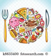 Clipart essen und trinken kostenlos. Lizenzfrei clip art vektor