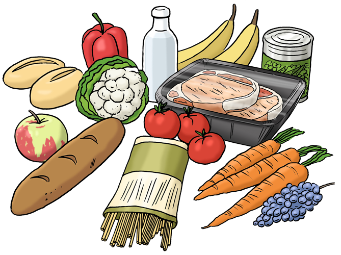 Essen trinken clipart image royalty free download 28+ Collection of Gutes Essen Clipart | High quality, free cliparts ... image royalty free download