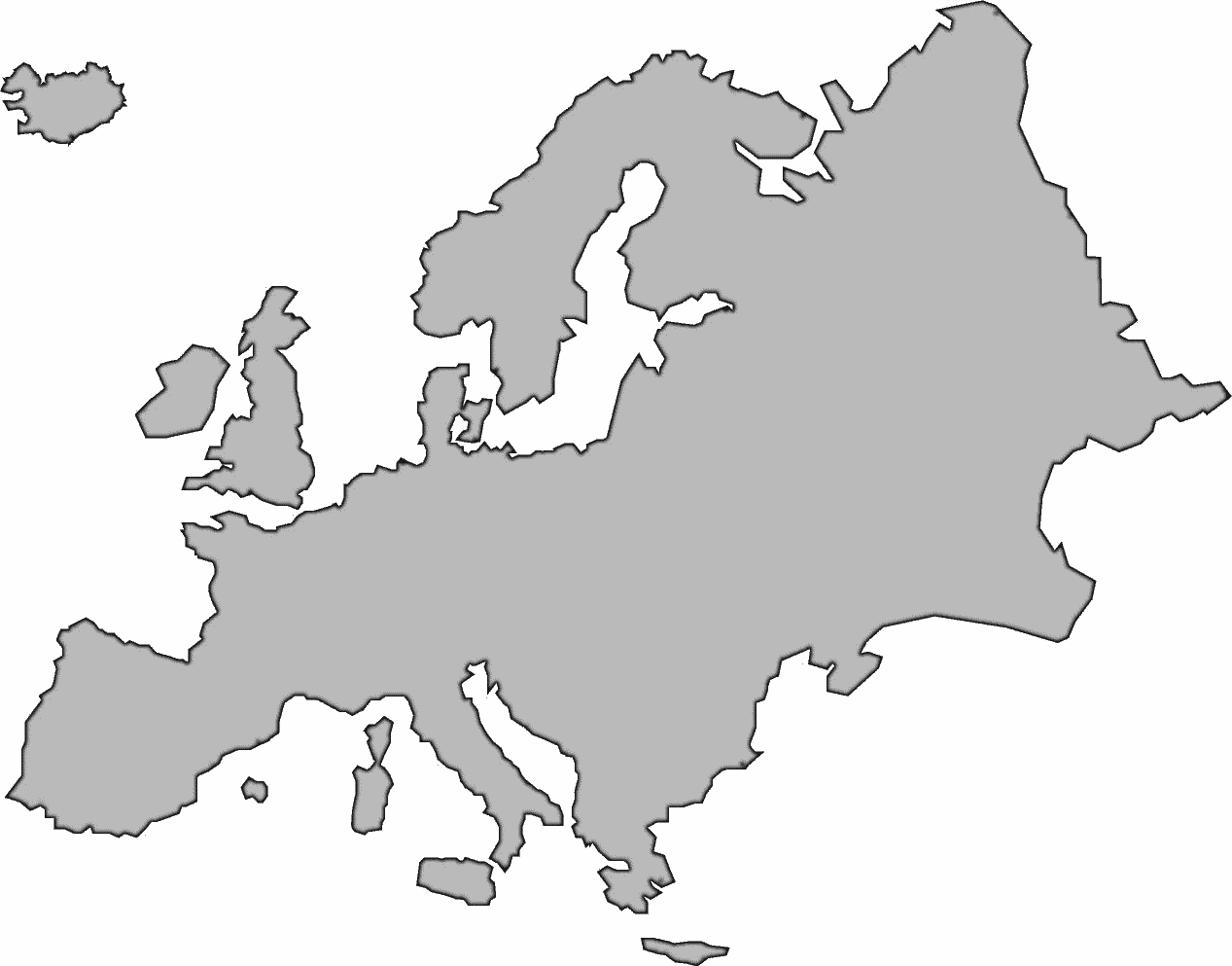 Europe map clipart free clip royalty free stock Europe Clipart | Free Download Clip Art | Free Clip Art | on Clipart ... clip royalty free stock