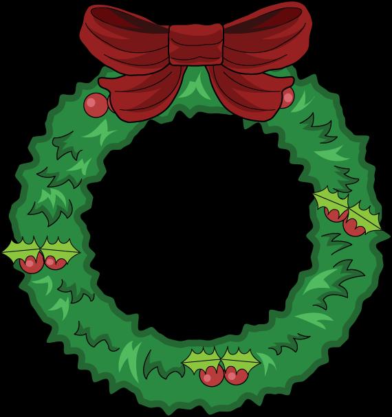 Clipart evergreenwreath clip art freeuse download Evergreen Wreath Cliparts - Cliparts Zone clip art freeuse download