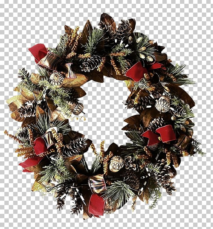 Clipart evergreenwreath graphic royalty free library Christmas Decoration Wreath Christmas Ornament Evergreen PNG ... graphic royalty free library