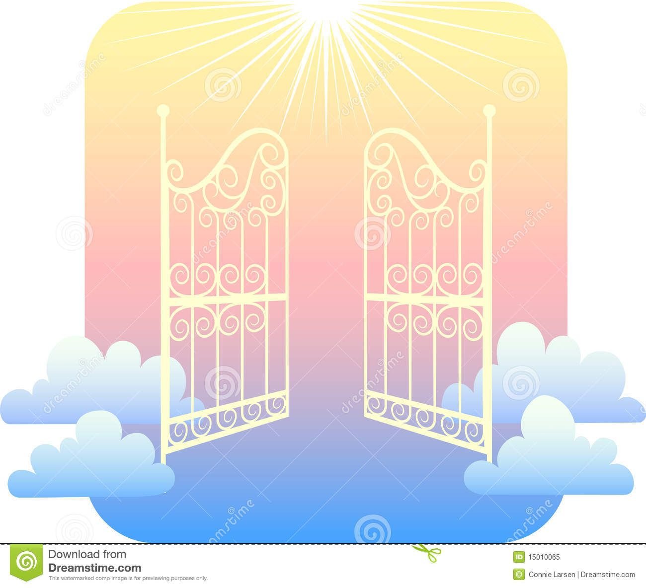 Love everlasting clipart svg black and white download Gates Of Heaven Clipart Images Pictures Becuo | illustrations in ... svg black and white download