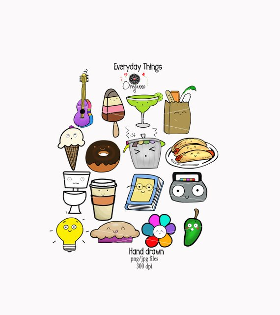 Clipart everyday graphic royalty free Everyday-Everyday items-Everyday clipart-Food clipart-Junk Food ... graphic royalty free