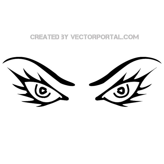 Evil eyes clipart freeuse stock Evil eyes clipart 2 » Clipart Portal freeuse stock