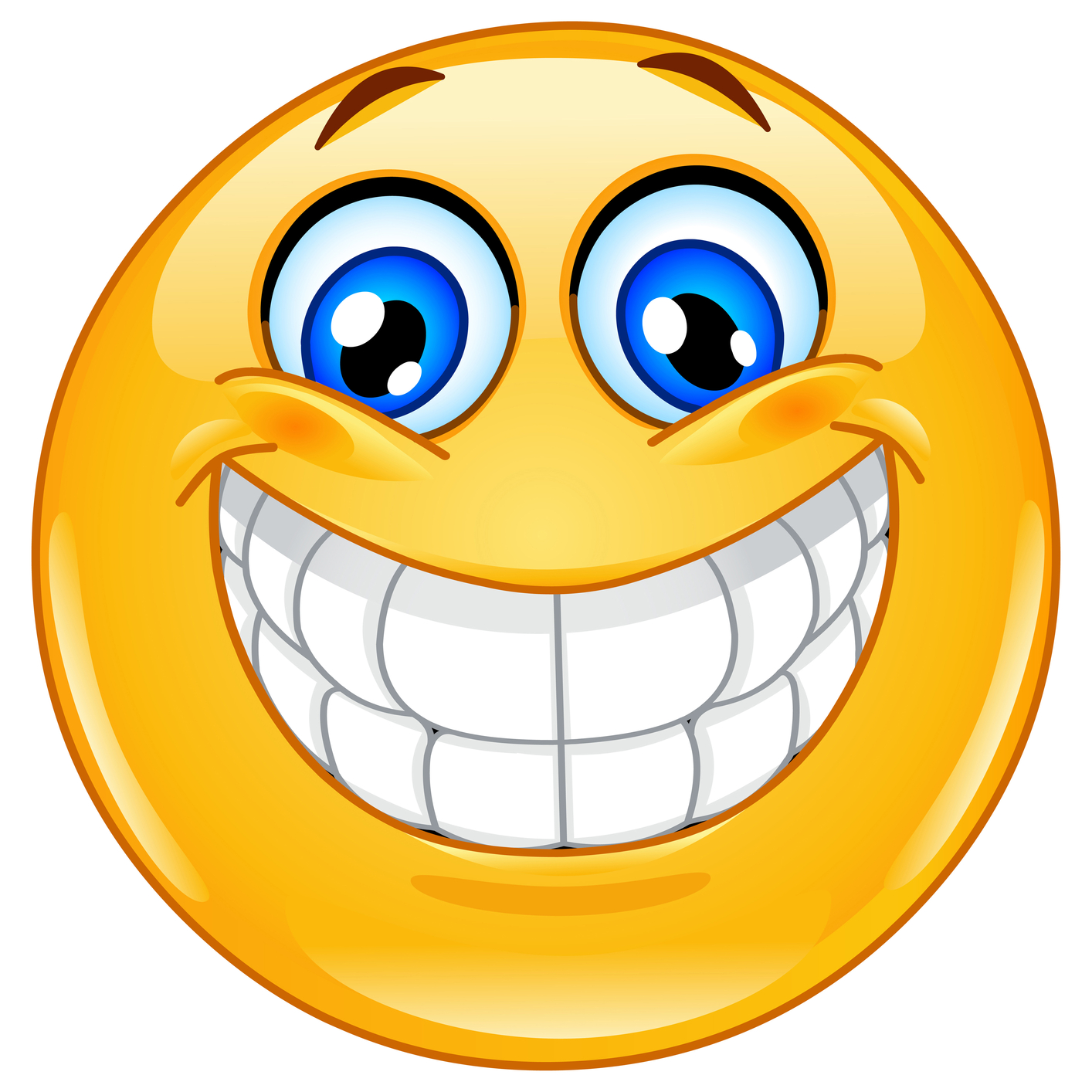 Clipart excited face clip freeuse download Emoji Excited Face Emoticon Super clipart free image clip freeuse download