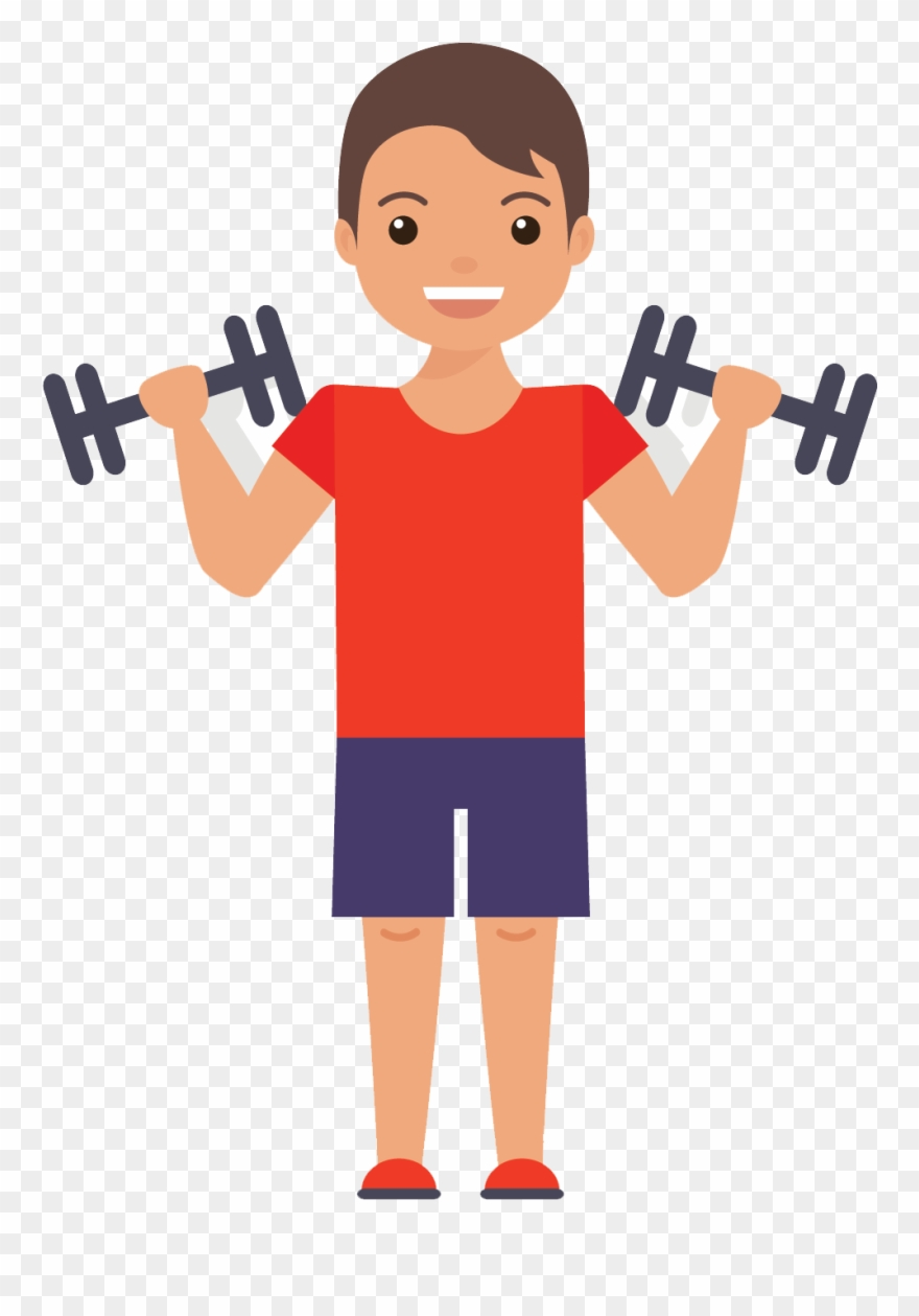 Workout clipart png svg transparent download Muscles Clipart Gym - Exercise Flat Design Png Transparent Png ... svg transparent download
