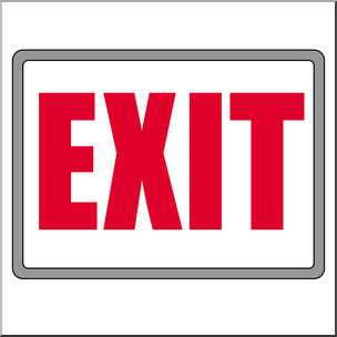 Clipart exit png transparent stock 48+ Exit Clipart | ClipartLook png transparent stock