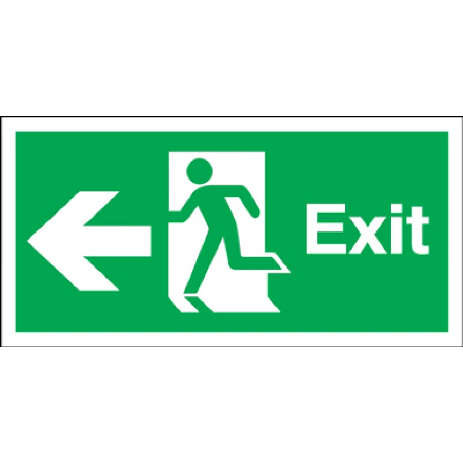 Clipart exit left arrow png library library Exit Sign | Free Download Clip Art | Free Clip Art | on Clipart ... png library library