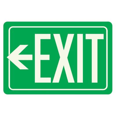 Clipart exit left arrow vector transparent library Exit Sign | Free Download Clip Art | Free Clip Art | on Clipart ... vector transparent library