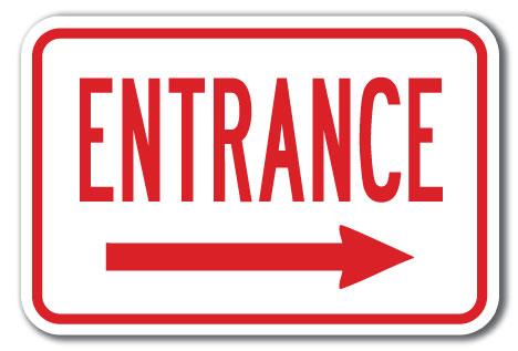 Clipart exit left arrow svg stock Entrance left arrow clipart - ClipartFest svg stock