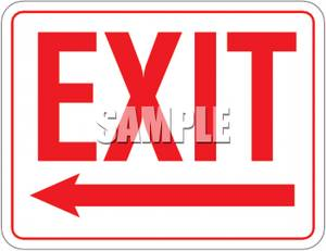 Clipart exit left arrow graphic library stock Clipart exit left arrow - ClipartFest graphic library stock