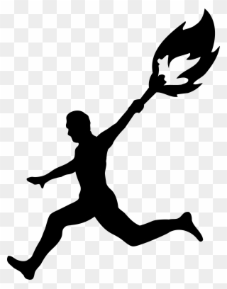 Clipart explore svg freeuse download Run Sports Clipart, Explore Pictures - Man Running With Torch - Png ... svg freeuse download