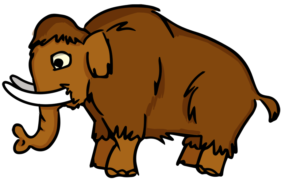 Clipart extinct banner freeuse download This cartoon mammoth clip art | Brother Bear | Clip art, Extinct ... banner freeuse download