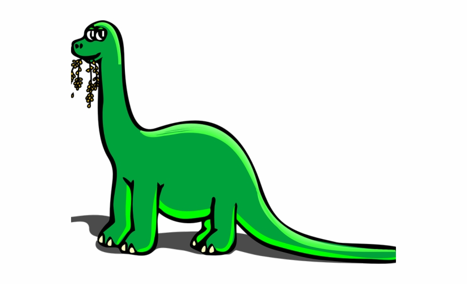 Clipart extinct svg transparent Extinct Clipart Cartoon Dinosaur - Cartoon Brontosaurus Free PNG ... svg transparent