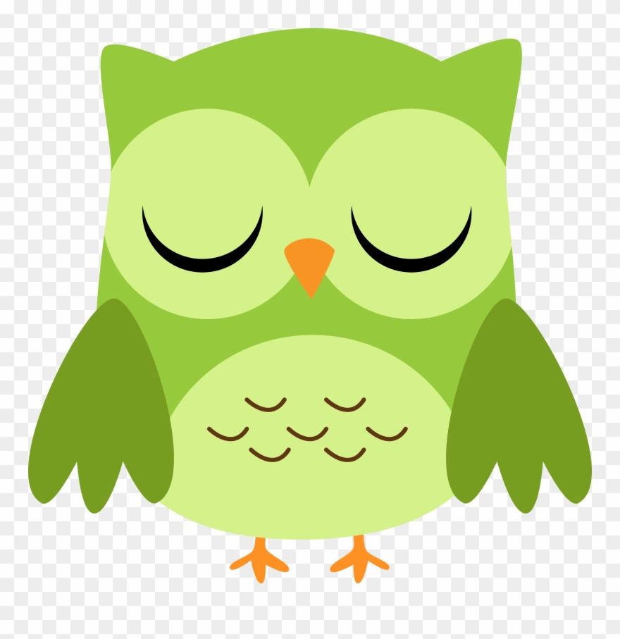 Clipart eyes closed graphic freeuse library Photo By @daniellemoraesfalcao Minus School - Owl Eyes Closed ... graphic freeuse library