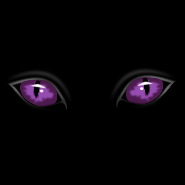 Clipart eyes in the dark creepy clip royalty free library Scary Eyes In The Dark Clip Art at Clker.com - vector clip art ... clip royalty free library