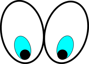 Clipart eyes looking down image royalty free Cartoon Eyes(looking Down) Clip Art at Clker.com - vector clip art ... image royalty free
