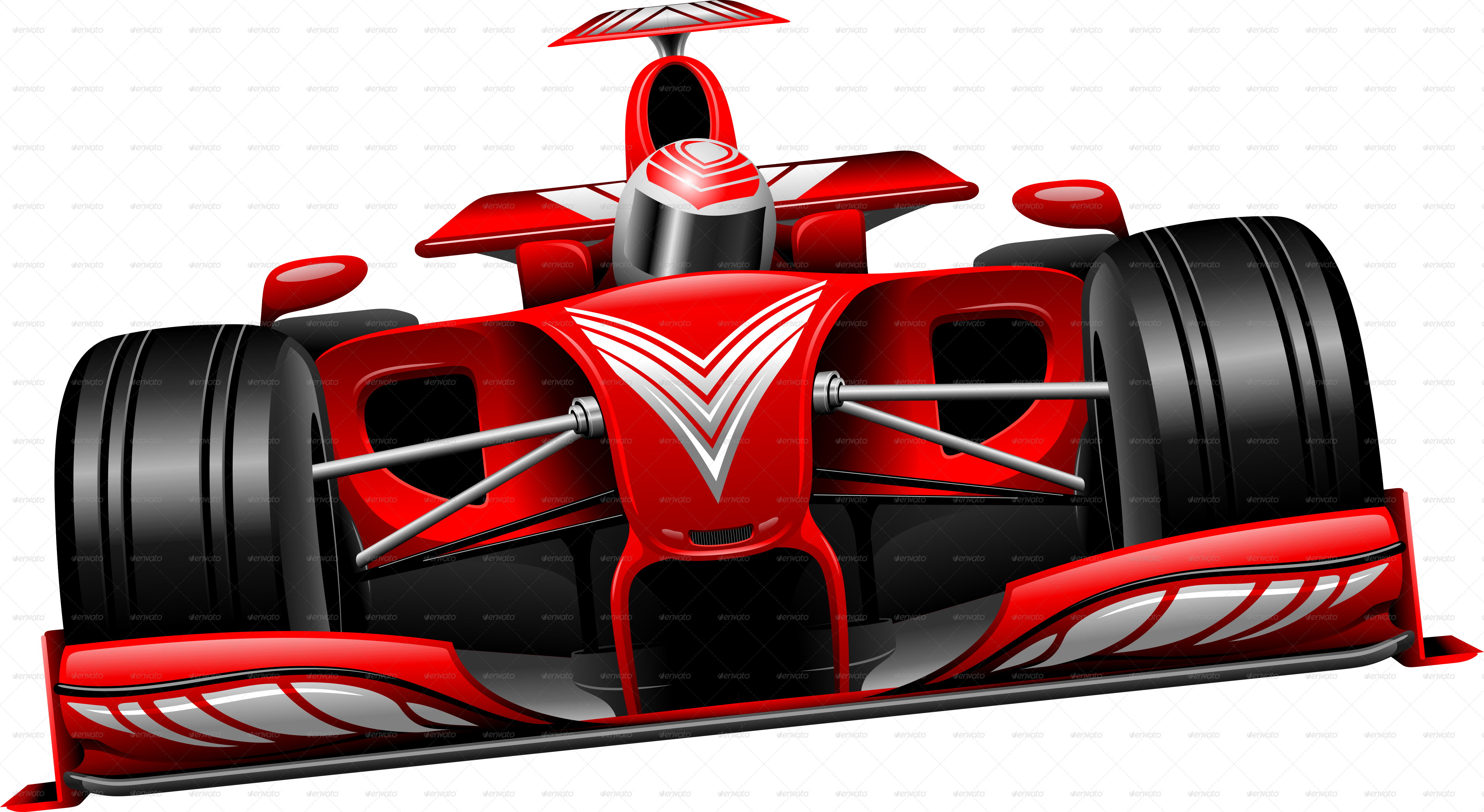 Formula one car clipart png black and white Formula 1 Red Race Car GP Brazil | Themestack.net png black and white