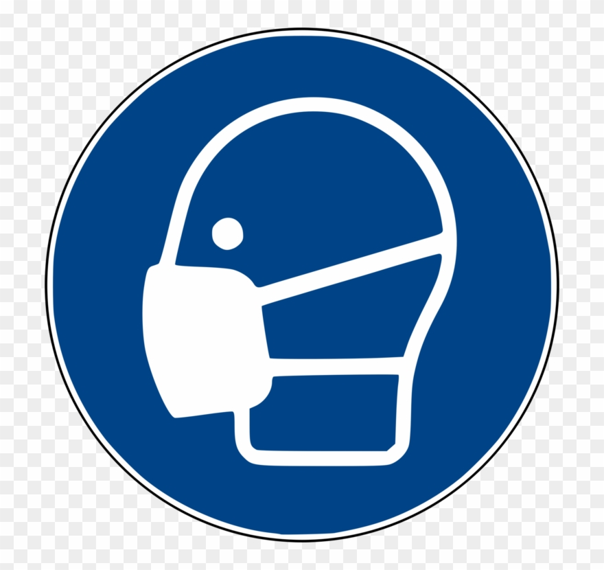 Clipart face mask picture freeuse Face Shield Personal Protective Equipment Dust Mask Clipart (#273047 ... picture freeuse