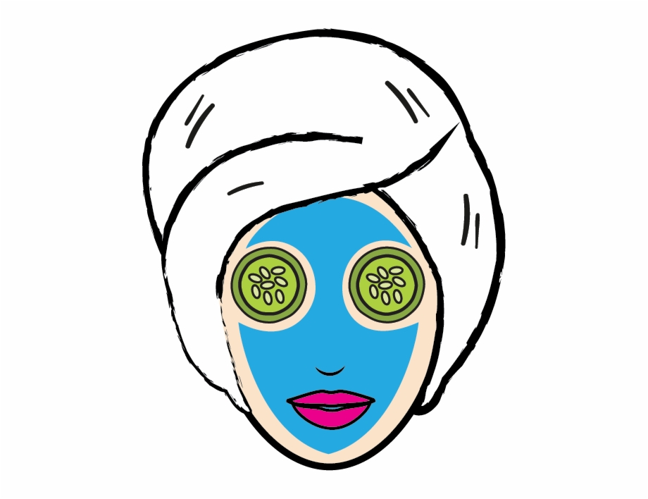Clipart face mask banner freeuse library Cosmetology Clipart Beauty Icon - Face Mask Clipart Png Free PNG ... banner freeuse library