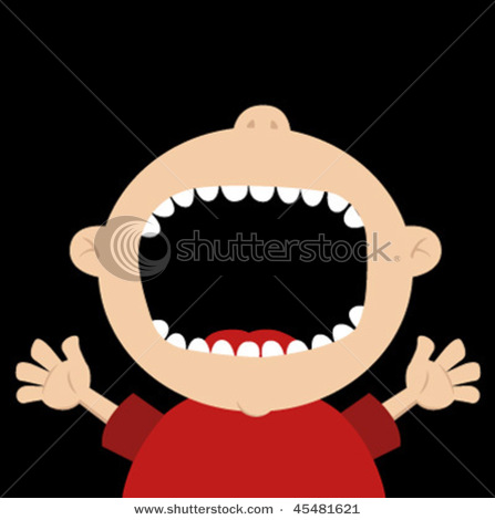 Clipart face with big mouth clip Clipart face with big mouth - ClipartFest clip