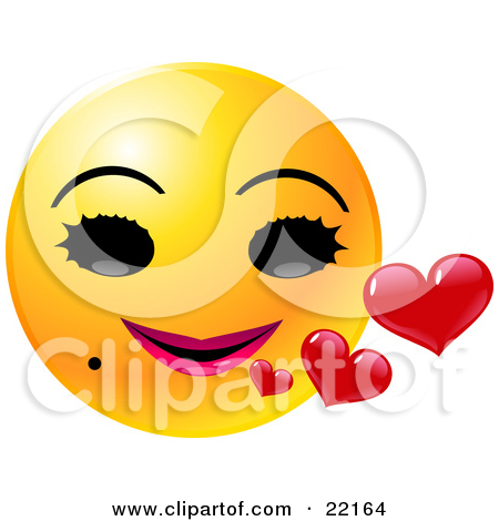 Clipart face with big mouth graphic royalty free library Clipart Illustration of a Yellow Emoticon Face With His Mouth Wide ... graphic royalty free library