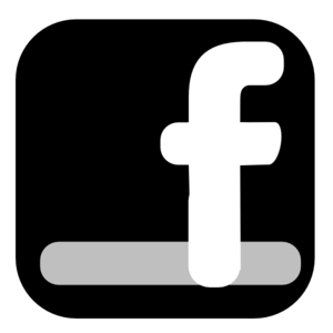 Clipart facebook black and white library Facebook icon clipart - Clipartix black and white library