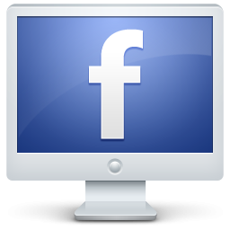 Clipart facebook clip transparent download Facebook on theputer screen icon clipart image iconbug - dbclipart.com clip transparent download