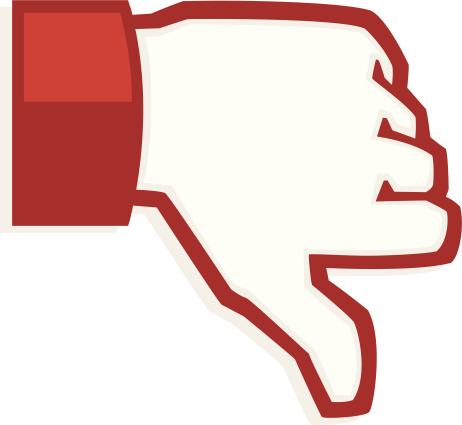 Clipart facebook dislike logo jpg black and white download Facebook Won't Add Dislike Button   Time.com jpg black and white download