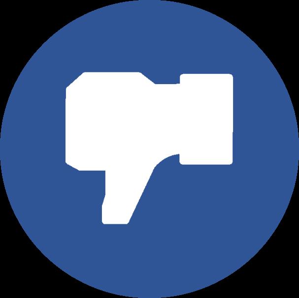 Clipart facebook dislike logo clip free library Blue facebook, dislike, facebook, facebook dislike, facebook like ... clip free library