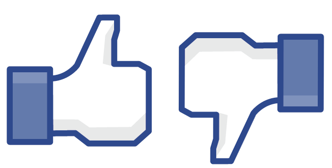 Clipart facebook dislike logo vector transparent library What We Know about Facebook's Dislike Button   Zen Planner vector transparent library