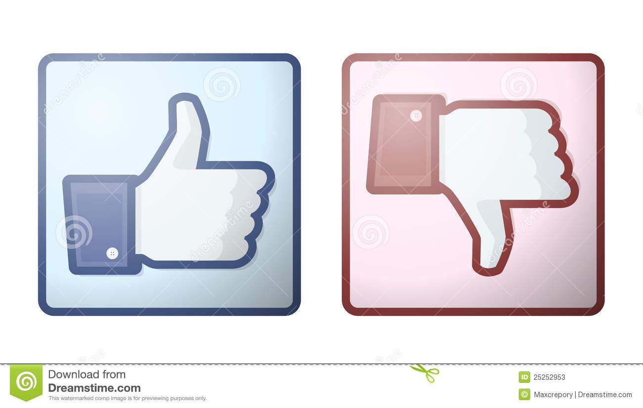 Clipart facebook dislike logo picture freeuse Facebook Stock Illustrations – 2,399 Facebook Stock Illustrations ... picture freeuse