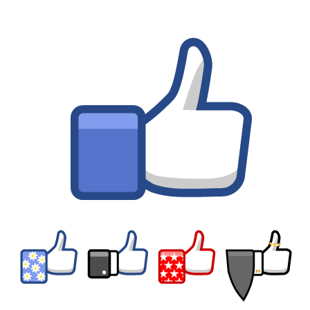 Clipart facebook like button png transparent download Like And Share On Facebook Clipart - Clipart Kid png transparent download