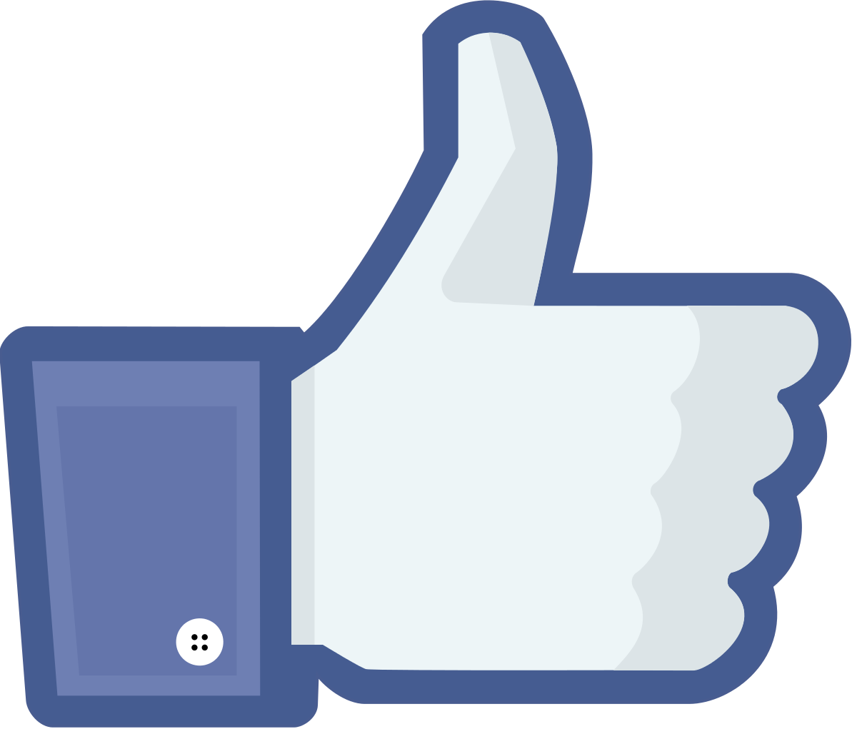 Clipart facebook like button graphic library download Facebook like button - Wikipedia graphic library download